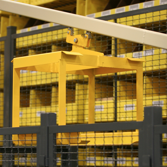 dematic conveyor close up